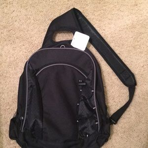 SINGLE STRAP COMPUTER BACKPACK